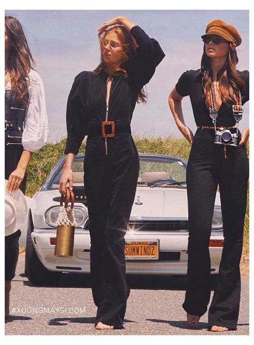 những chiếc quần ống flare biểu tượng của 70s