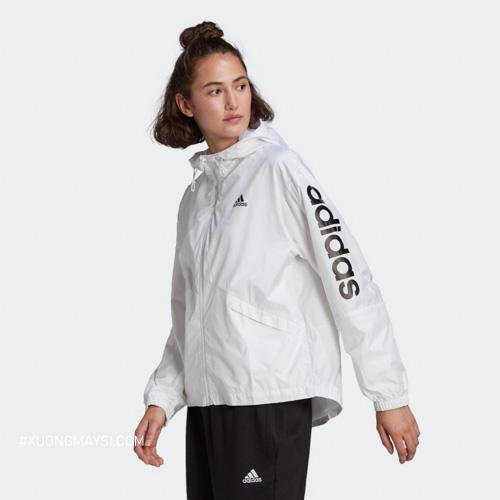 Dòng áo khoác dù adidas có nón dành cho nữ