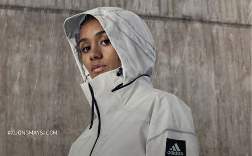 Áo khoác dù thuộc Adidas Switzerland dành cho các nữ