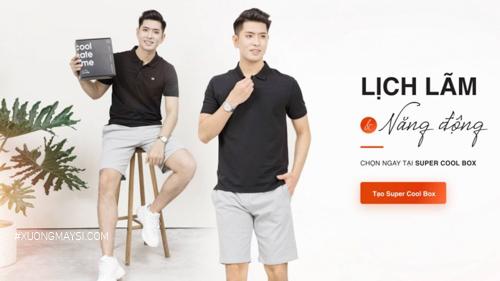Thương hiệu Coolmate với trang phục dành cho nam kiểu dáng đơn giản lịch lãm giá rẻ phù hợp với túi tiền người Việt