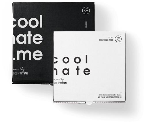 Bao bì đóng gói của thương hiệu Coolmate cực kỳ tinh tế và chất lượng