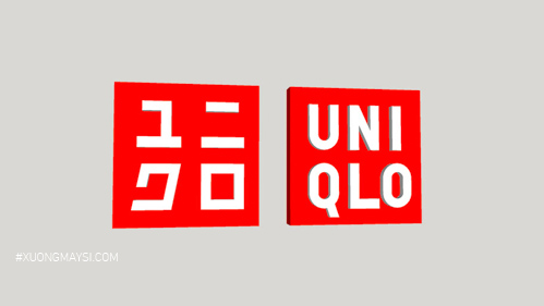 Logo thương hiệu Uniqlo đến từ Nhật Bản