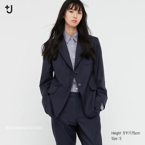Áo khoác Blazer trang trọng lịch sự cho các bạn nữ đến từ thương hiệu Uniqlo