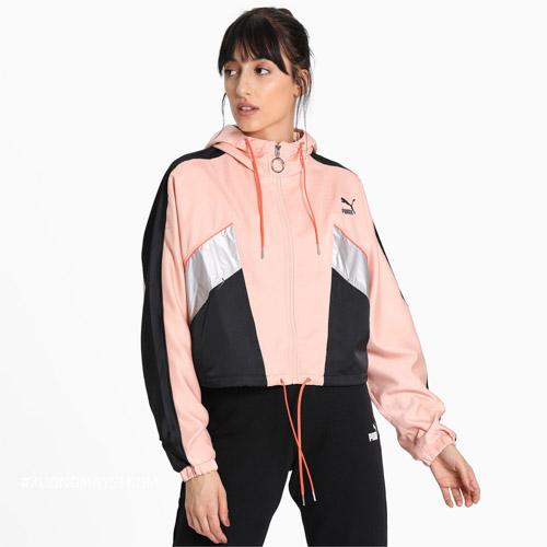 Áo khoác cá tính phong cách màu sắc trẻ trung của nhãn hàng thời trang Puma dành cho nữ