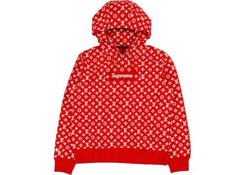 Áo hoodie Supreme x Louis Vuitton với giá trị lên đến hơn $6000
