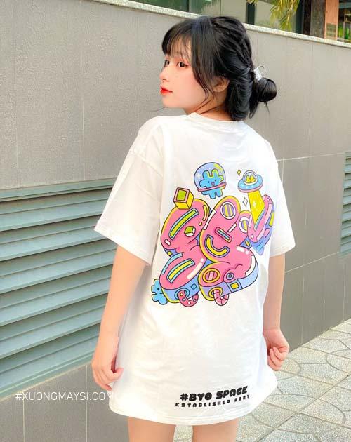 Áo thun nữ siêu dễ thương hoạ tiết trẻ trung với mức giá chỉ từ 149k đến từ Local Brand 8Yo