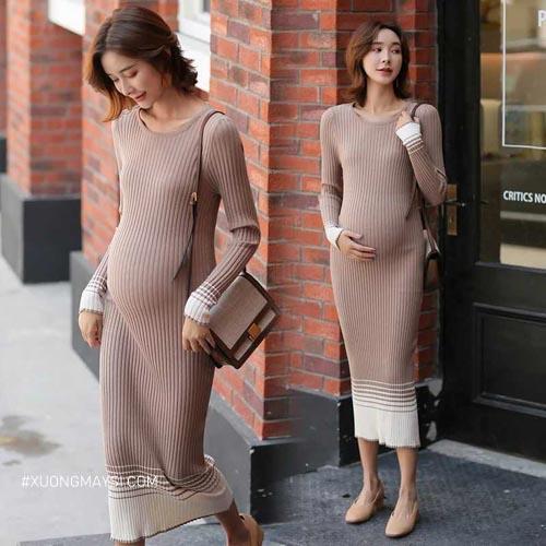 Chất liệu của các loại đầm bầu đều là chất liệu vải mềm mịn thoáng mát dành cho riêng cho các mẹ bầu