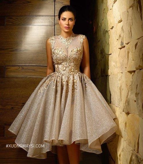 Những chiếc đầm dạ hội chính là điểm sáng thu hút và tạo sự khác biệt cho các quý cô khi xuất hiện giữa đám đông