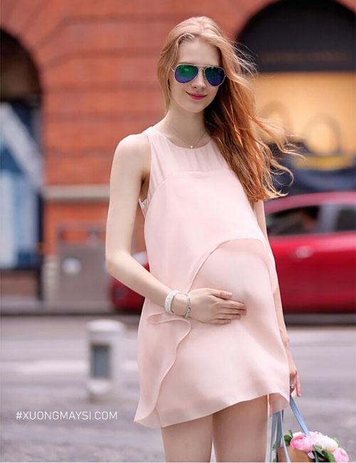 Màu sắc trẻ trung, nhẹ nhàng tươi mới sẽ khiến cho các mẹ có tinh thần lạc quan và dễ chịu