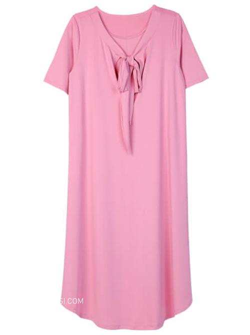 Đầm bầu vải lụa mát mẻ thoải mái dành cho các mẹ bầu đến từ hãng thời trang Concung