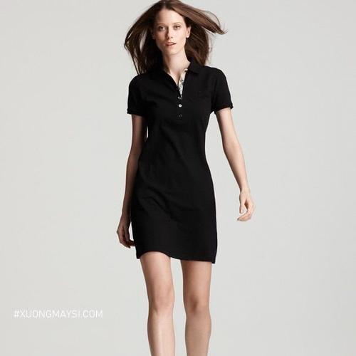 Đầm có cổ trung niên với chất liệu mát mẻ và thoải mái cho các quý cô