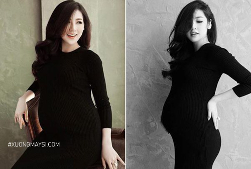 Đầm bầu body quý phái, quyến rũ dành cho các mẹ