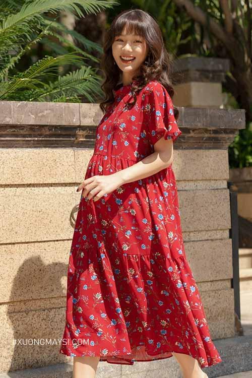 Đầm bầu Anna Nina mang phong cách trẻ trung xinh xắn cho các mẹ bầu hiện đại