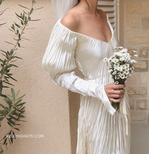 Chọn cho mình một chiếc đầm cưới toát lên nét xinh đẹp