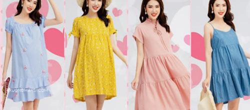 Thương hiệu Honey mang đến những chiếc đầm bầu thời trang đầy màu sắc tươi tắn dành cho các mẹ bầu chúng ta