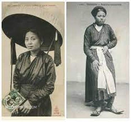 áo dài giao lãnh có thể nói là mẫu áo dài sơ khai của Việt Nam
