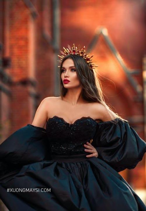 Đầm công chúa mang đến phong cách thời trang trẻ trung và sang trọng dành cho các bạn nữ chúng ta