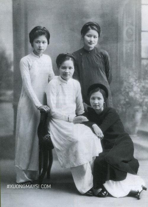 Hình dáng của áo dài Lê Phổ có thể nói là hình dáng định hình cho các mẫu áo dài Việt Nam