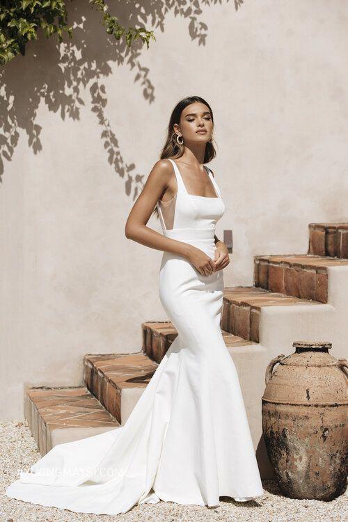 Dáng váy suông giúp bạn trông cân đối hơn